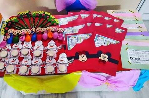 Okul öncesi çocuk için hediye